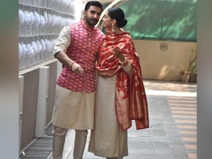 Deepika Padukone And Ranveer Singh Colour-coordinated Their Outfits As They Returned To Mumbai