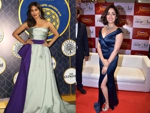 Chitrangda Yami Gautam Gowns At Conde Nast Traveller Jewellery Store Launch