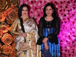 Rekha Zeenat Aman Hema Malini Fashion At Lux Golden Rose Awards
