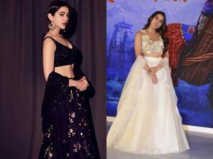 Sara Ali Khan Ethnic Outfits Kedarnath Promotions