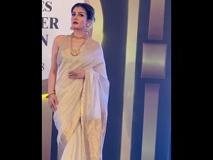 Raveena Tandon A Sari Times Power Awards