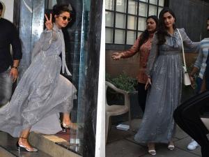 Sonam Kapoor Priyanka Chopra The Same Maxi Dress