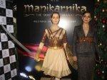 Kangana Ranaut A Tweed Dress Manikarnika Party