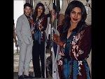 Priyanka Chopra S Party Casual Mumbai Airport Look
