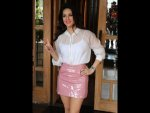 Sunny Leone A Skirt Top Event Photoshoot