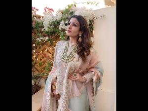 Raveena Tandon S Floral Outfit Isha Ambani S Sangeet