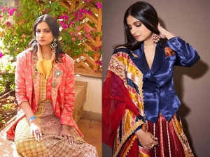 Rhea Kapoor S Outfits At Isha Ambani S Pre Wedding Bash