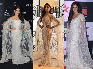 Something Sheer And Cape: Janhvi, Katrina, and Deepika Are Setting Similar Trends