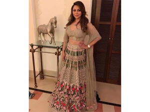 Gauri Khan A Lehenga At Isha Ambani S Pre Wedding Bash