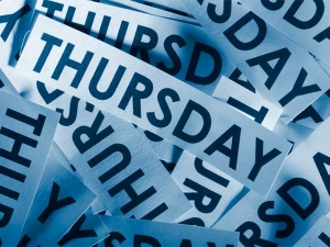 Things To Not Do On Thursday
