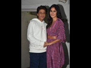 Katrina Kaif Wears Dress Zero Promotions With Shah Rukh Khan