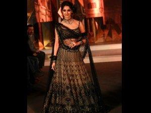 Disha Patani Bridal Showstopper Tarun Tahiliani At Blenders Pride Fashion Tour