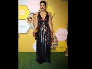 Priyanka Chopra S Colourful Dress Bumble App Party