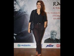 Twinkle Khanna S Casual Look The Raag Shayari Event