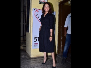 Yami Gautam A Formal Dress Uri Screening Event
