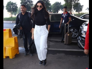 Deepika Padukone Papped A Comfy Outfit At The Airport