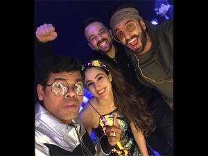 Sara Ali Khan A Dazzling Number At Simbaa S Success Party