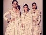 Sonam Rhea Kapoor S Ivory Outfits Photoshoot