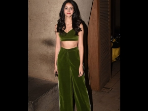 Ananya Panday S Green Separates Punit Malhotra S Party