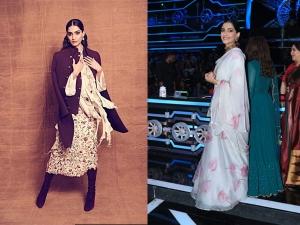 Sonam Kapoor S Outfits At The Promotion Events Ek Ladki Ko Dekha Toh Aisa Laga