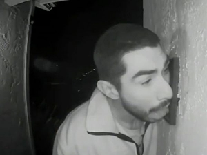 Video Of Man Licking Doorbell For 3 Long Hours