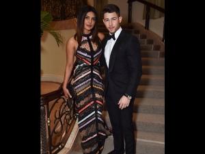 Priyanka Chopra An Elie Saab Gown With Nick Jonas At The 2nd Annual Winter Gala