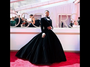 Billy Porter A Victorian Tuxedo Gown At Oscars