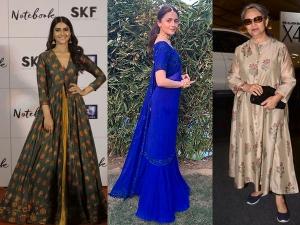 Alia Bhatt Kajol Others Traditional Looks