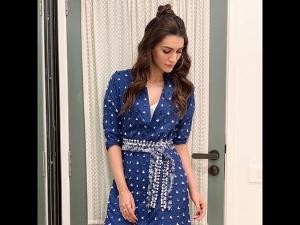 Kriti Sanon A Blue Dress Rajeev Masand S Show