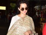 Kangana Ranaut Spotted A Traditional Suit At The Airport