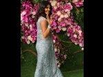 Priyanka Chopra Jonas A Tarun Tahiliani Sari Akash Ambani Shloka Mehta