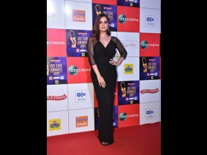Dia Mirza A Black Gown The Zee Cine Awards