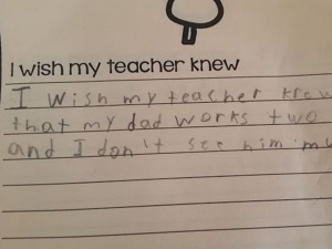 Handwritten Notes From Students To Their Teacher Will Break You Heart