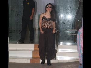 Kareena Kapoor Khan Spotted A Camisole Top Dhoti Pants