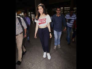 Shraddha Kapoor Spotted A Quirky Airport Outfit
