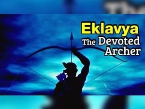 The Story Of Eklavya And Dronacharya