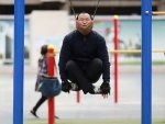 People In China Are Hanging By Their Necks For Relief