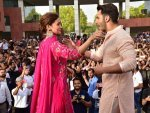 Alia Bhatt In A Pink Traditional Ensemble For Kalank Promotions