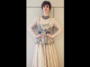 Kalki Koechlin In A Sabyasachi Outfit Photoshoot