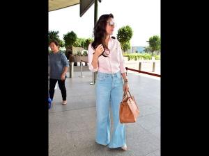 Kareena Kapoor Khan In A Formal Meets Casual Airport Look