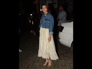 Alia Bhatt In A Summer Dress For Kalank Screening