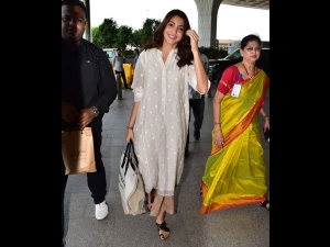 Anushka Sharma Snapped In An Earthy Airport Outfit