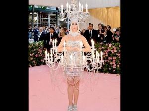 Katy Perry S Chandelier Costume At Met Gala