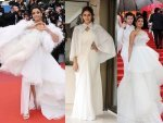 Bollywood Actresses In White Outfits At Cannes