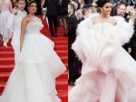 Aishwarya Priyanka In White Gowns At Cannes