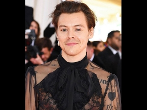 Harry Styles In A Gucci Outfit For Met Gala