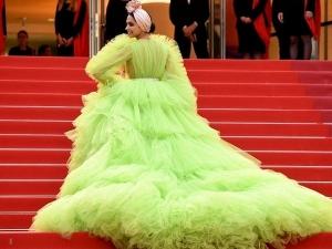 Deepika Padukone In A Giambattista Valli Gown At Cannes