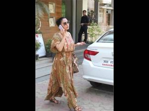 Lara Dutta Bhupathi Spotted In A Flowy Printed Dress