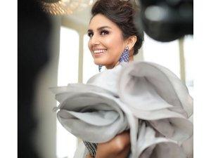 Huma Qureshi In A Gaurav Gupta Gown For Cannes 2019