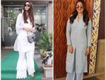 Malaika Arora And Sonakshi Sinha Spotted In Ethnic Outfits